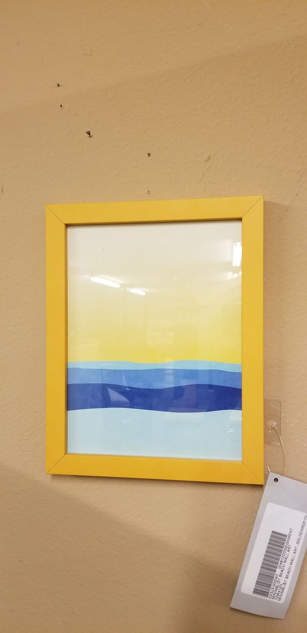 MINIMALIST BEACH WALL ART | Delmarva Furniture Consignment