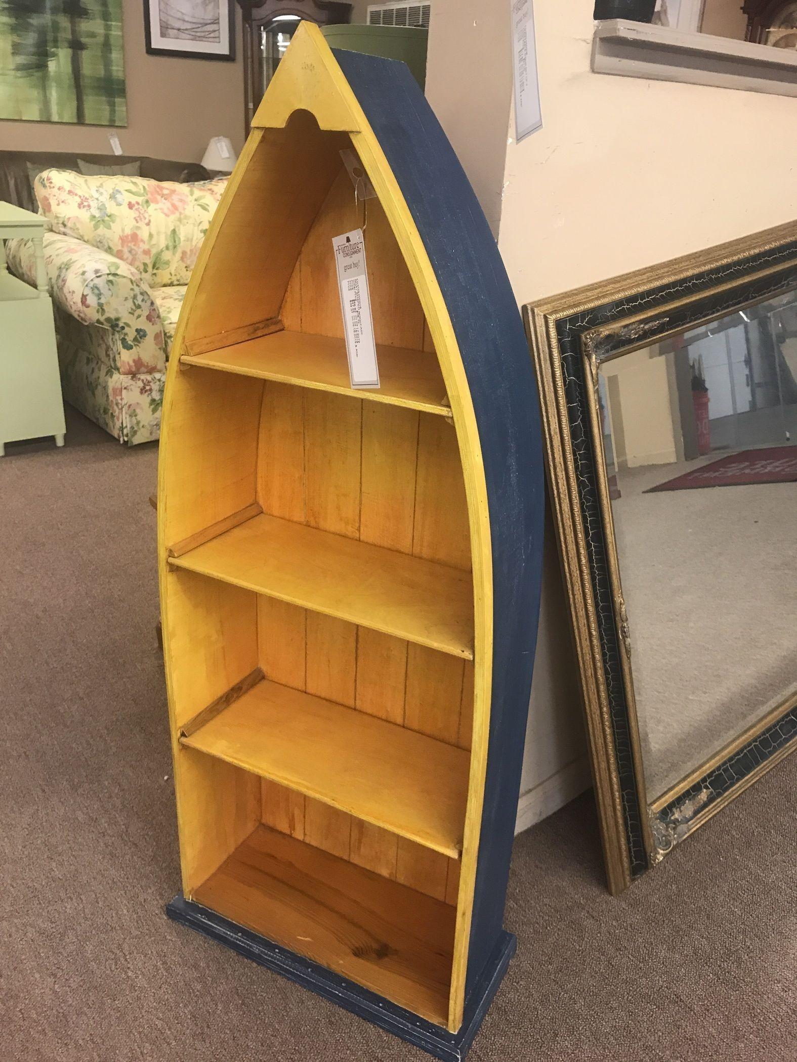 Boat Shaped Bookcase Delmarva Furniture Consignment