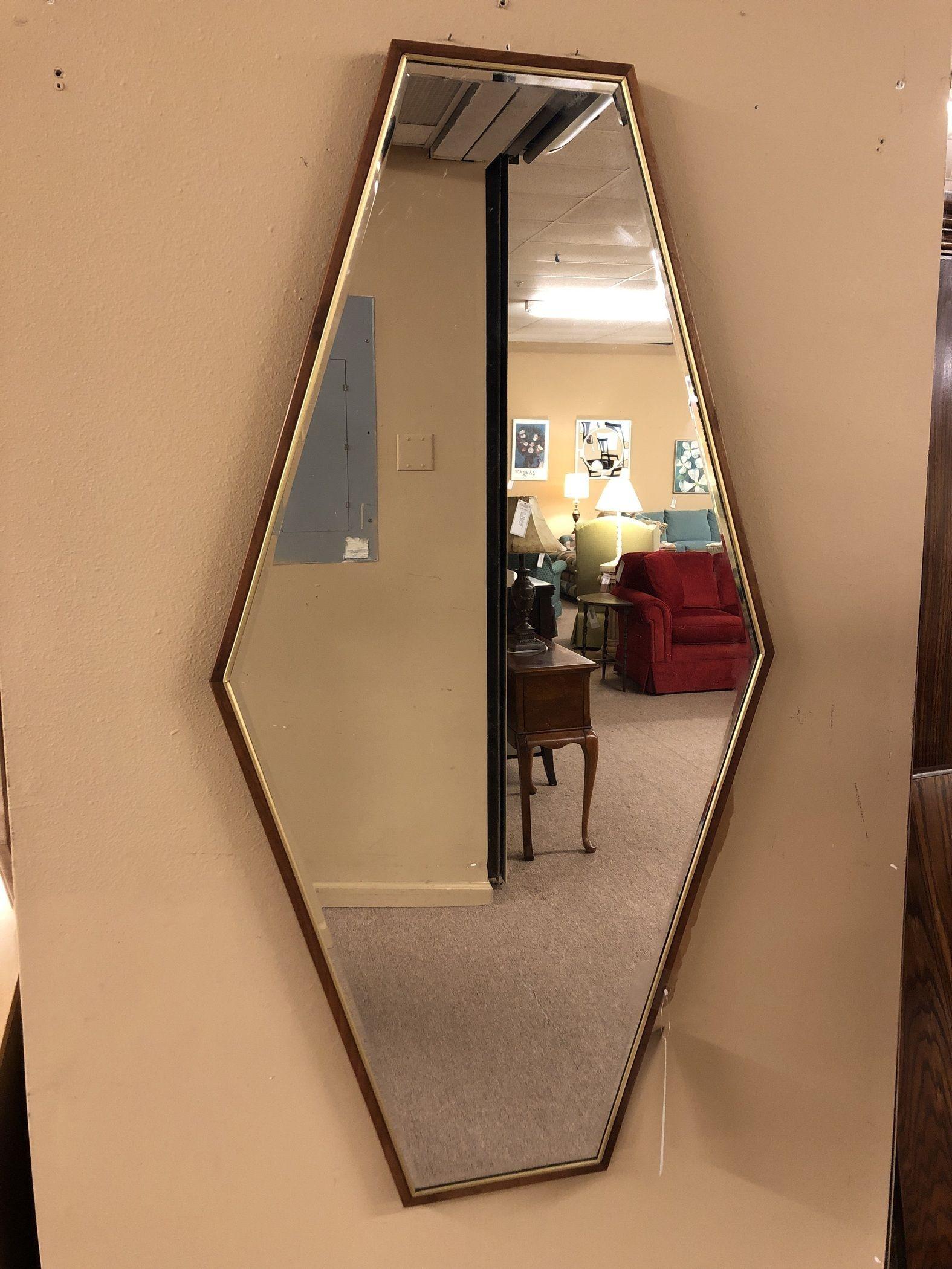 Diamond Shaped Mirror Delmarva Furniture Consignment