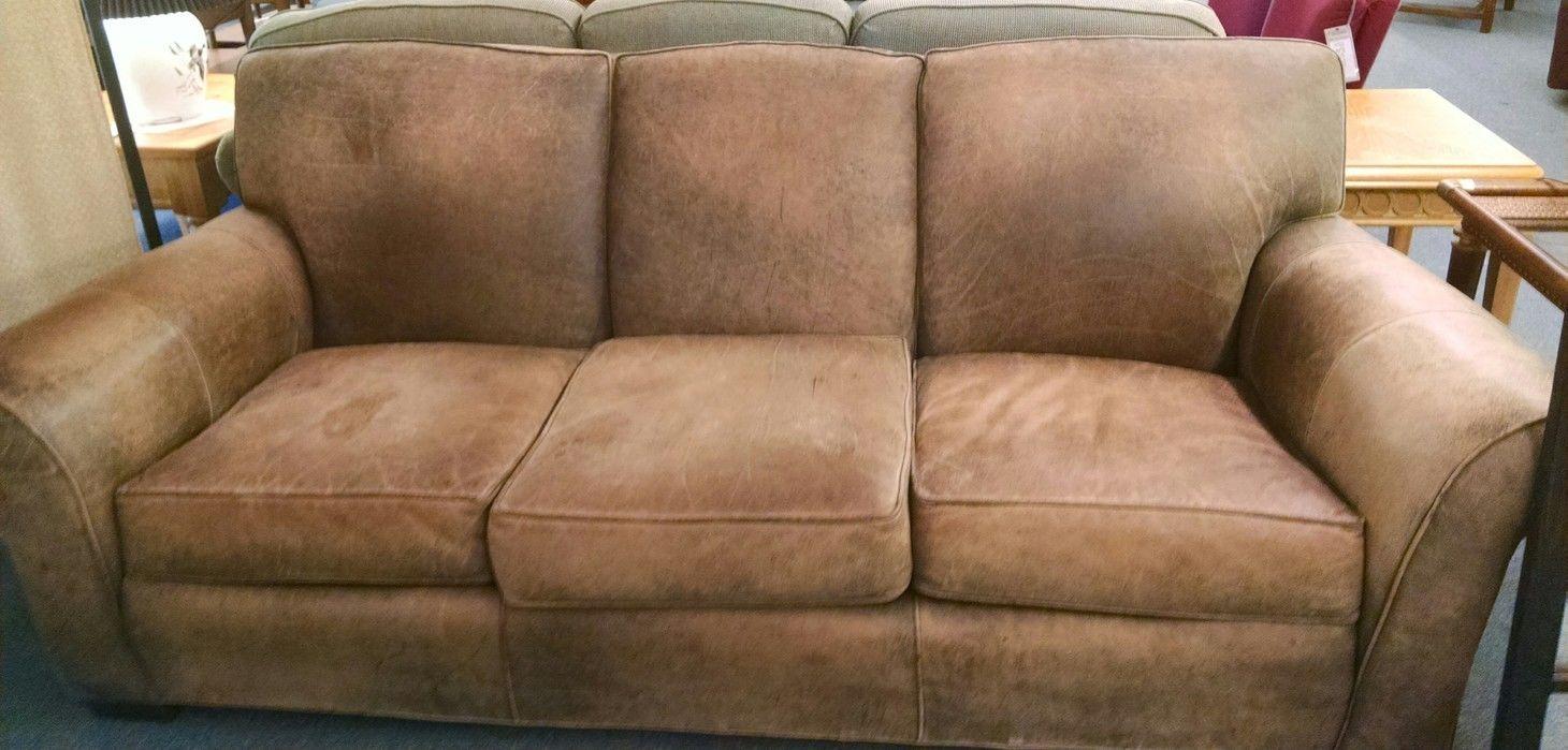 Pennsylvania House Sofa PA HOUSE LEATHER SOFA Delmarva Furniture  Consignment .