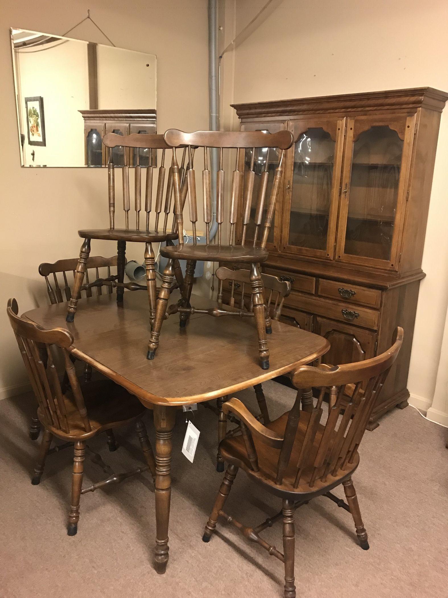 Temple Stuart Dining Room Set Delmarva Furniture Consignment