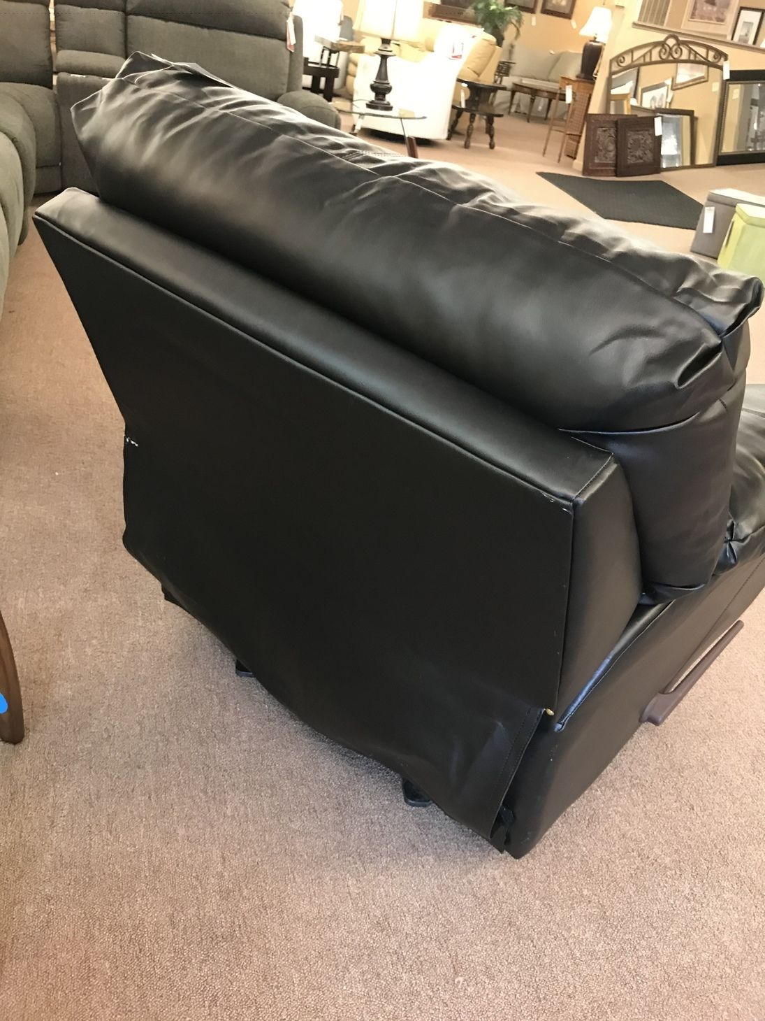 Ashley Leather Match Recliner Delmarva Furniture Consignment