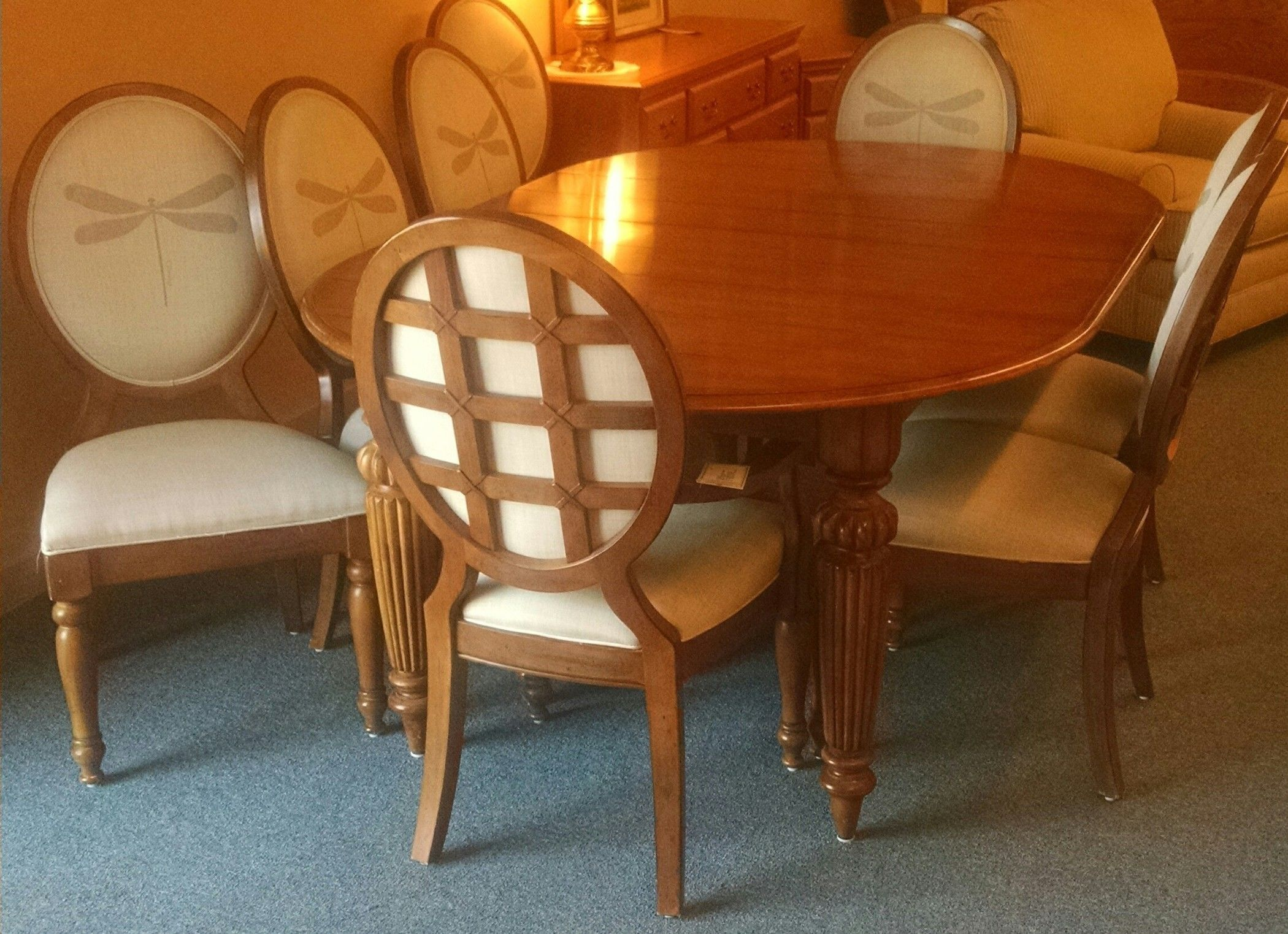 lexington dining room table delmarva furniture consignment