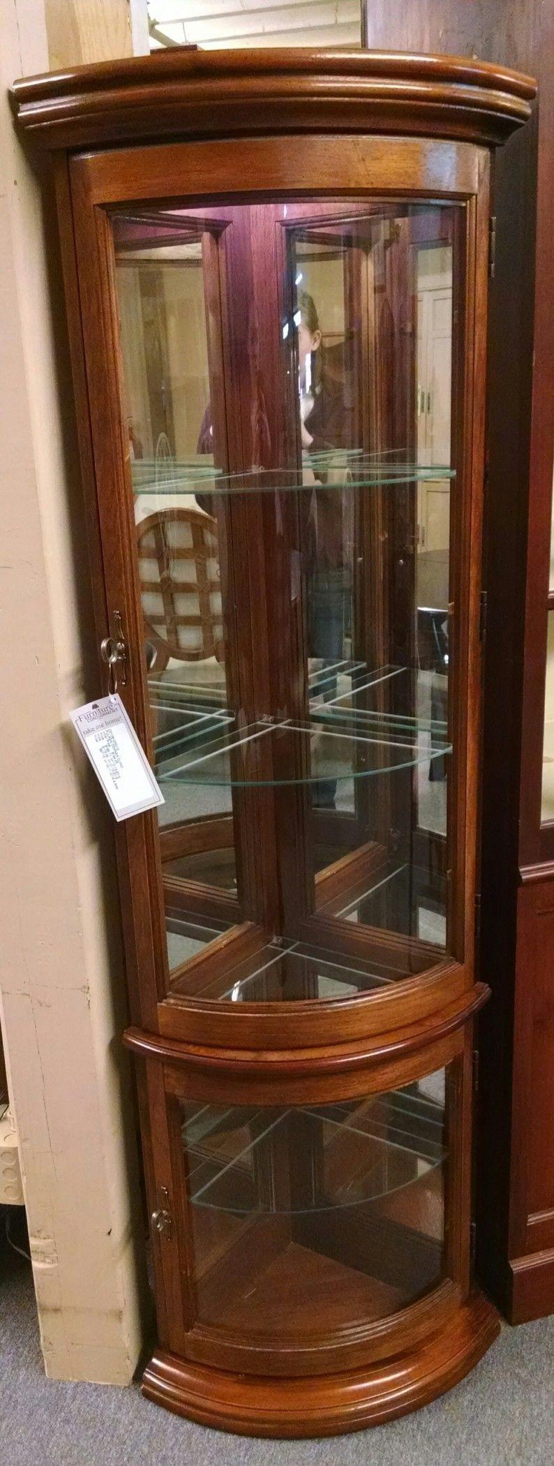 Pulaski Corner Curio Delmarva Furniture Consignment