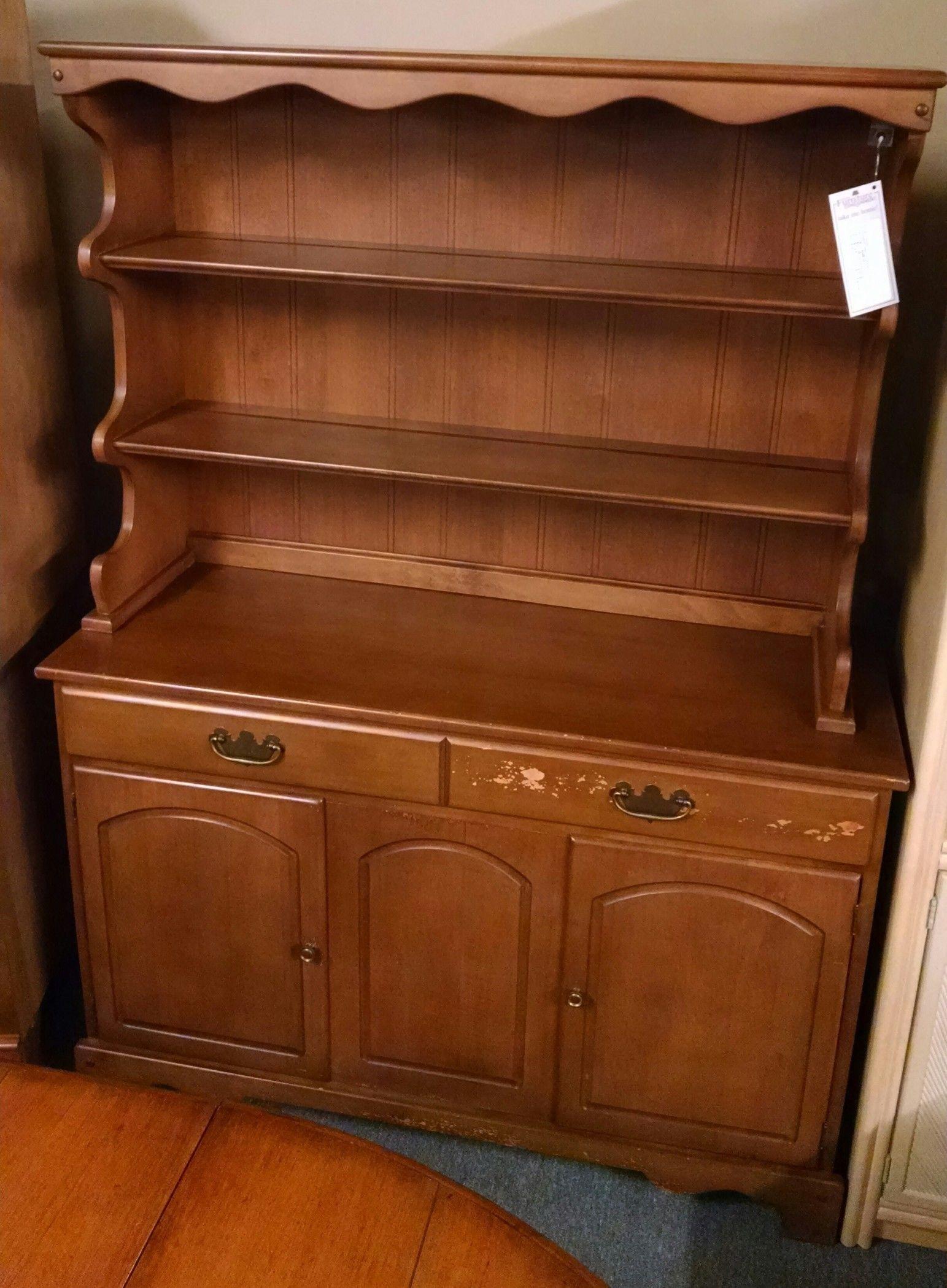 Cochrane Maple Open Hutch Delmarva Furniture Consignment