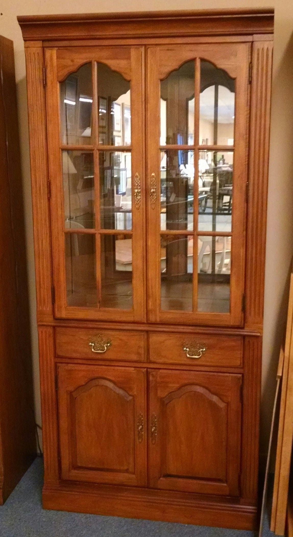Thomasville 2 Door Cabinet Delmarva Furniture Consignment