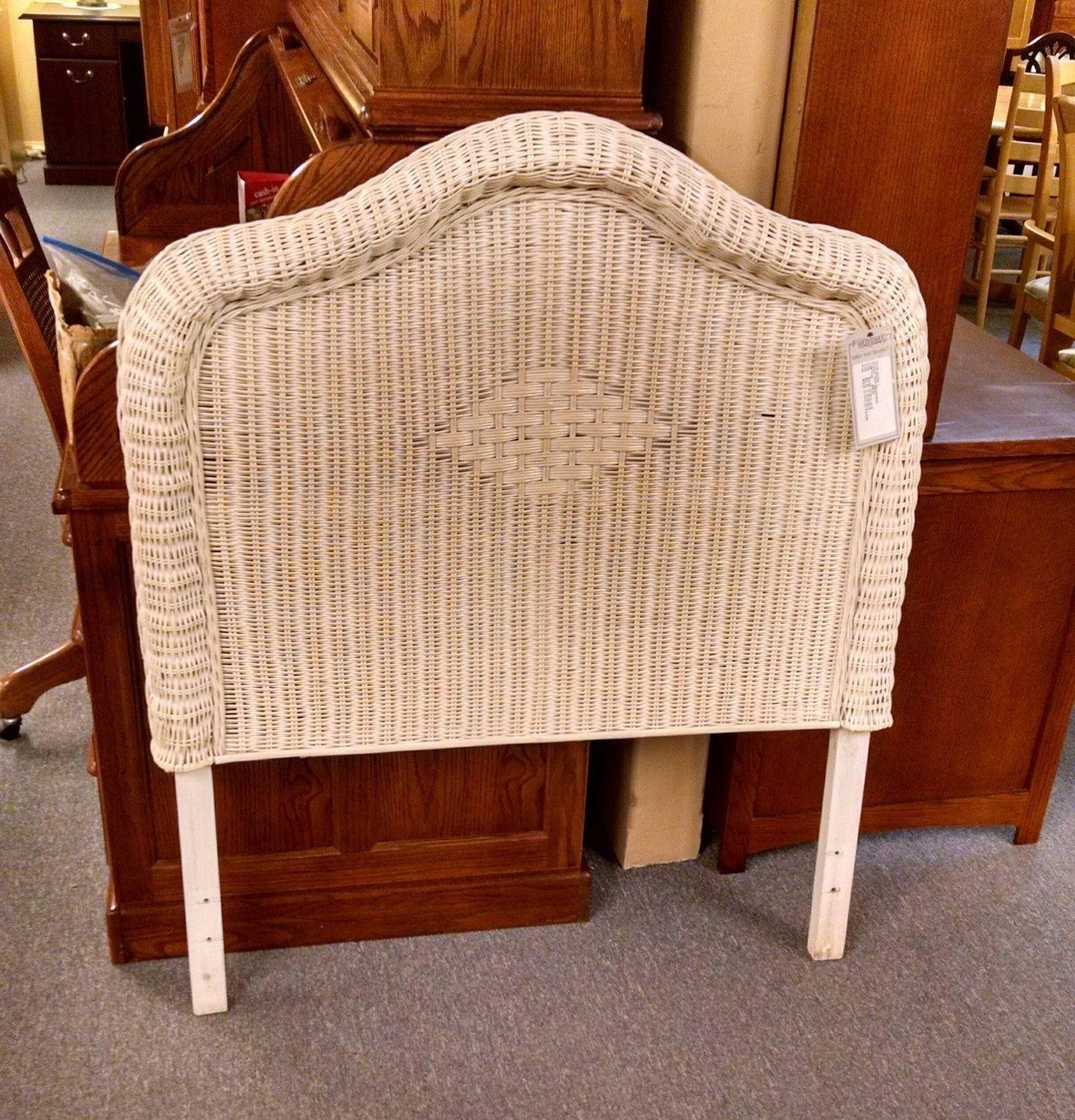 Wicker Twin Headboard Delmarva Furniture Consignment