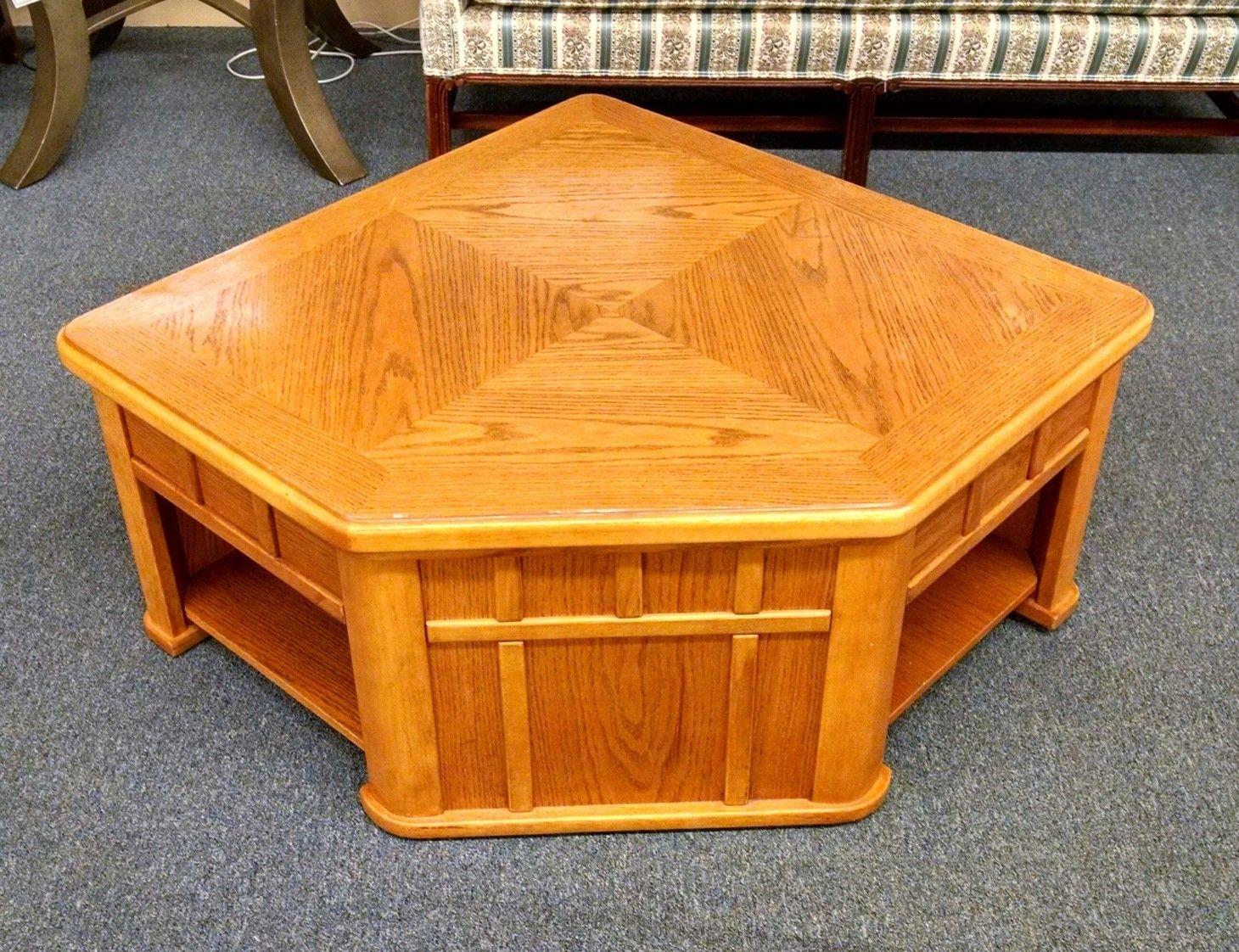 Oak Lift Top Coffee Table Delmarva Furniture Consignment