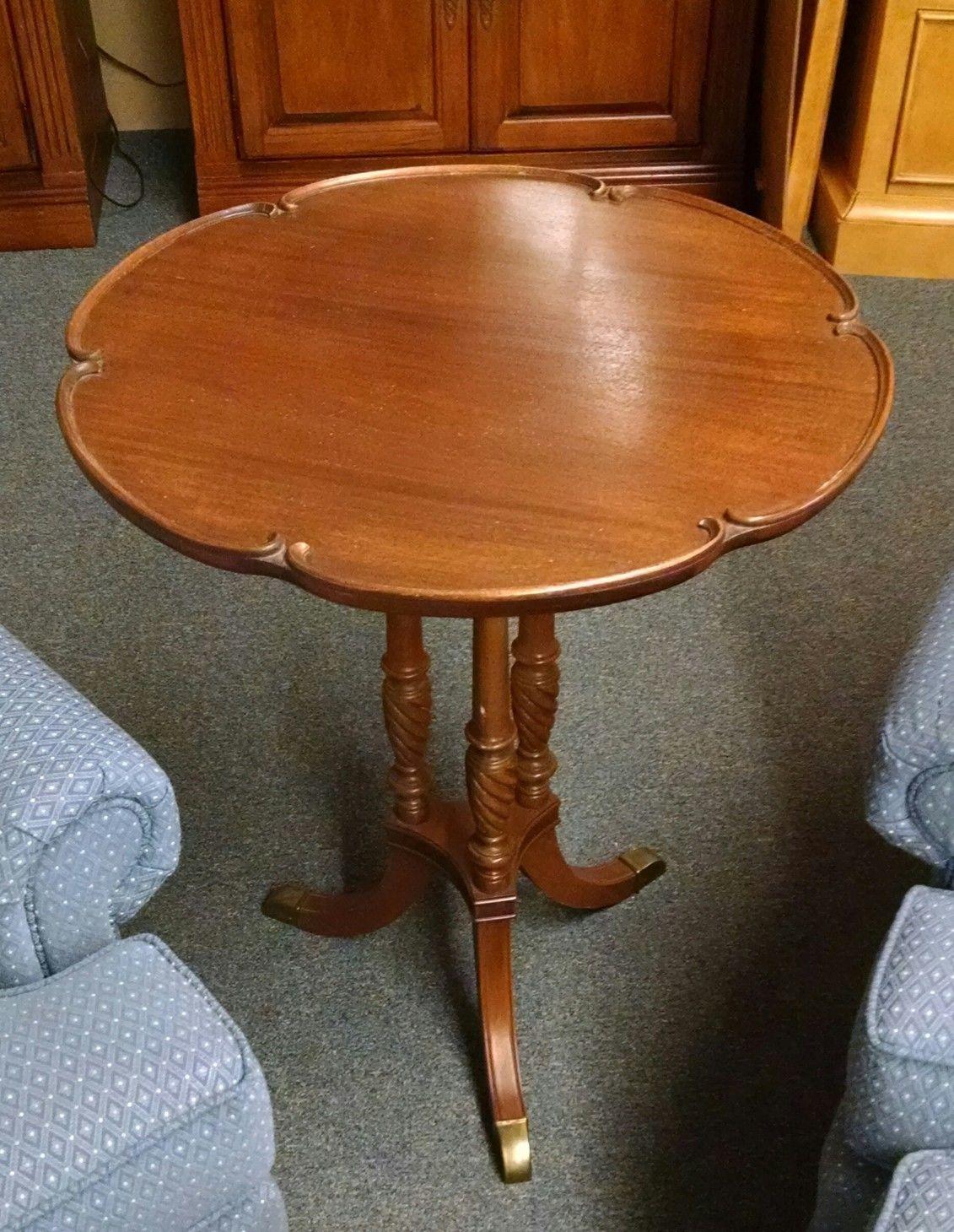 Duncan Phyfe Pie Crust Table Delmarva Furniture Consignment
