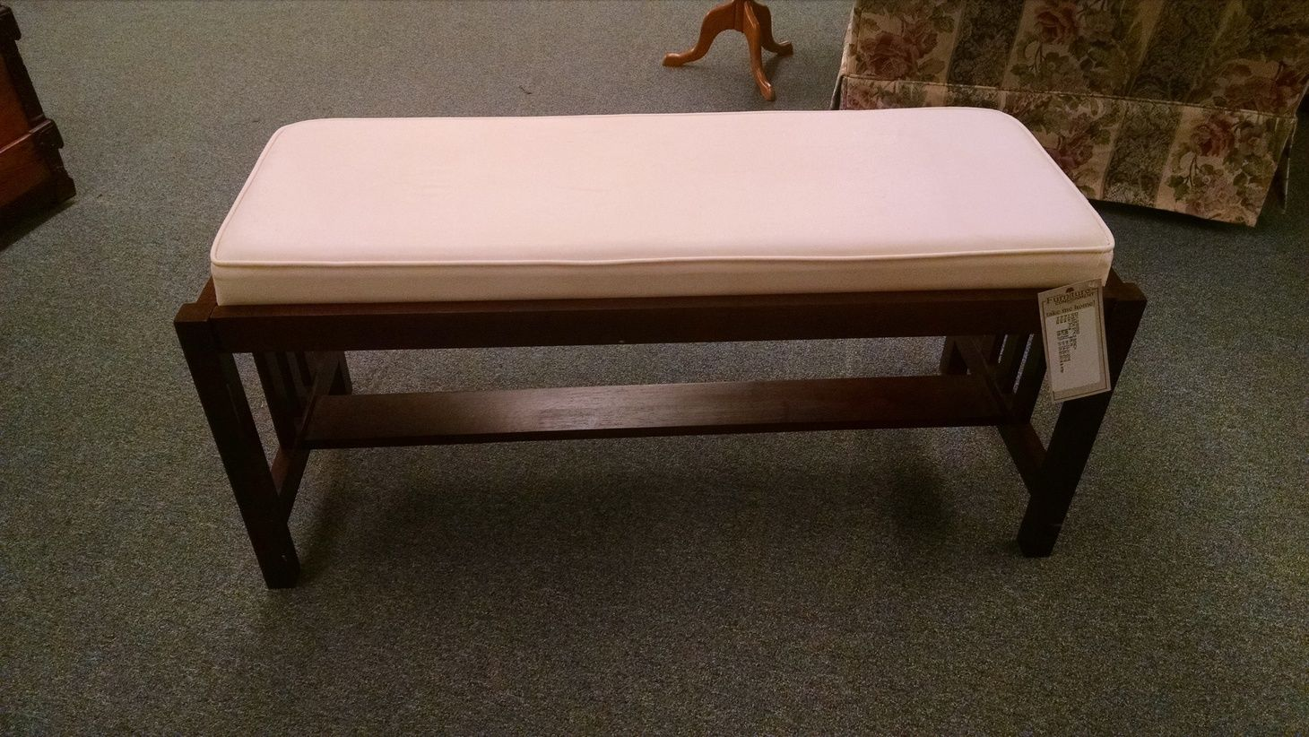 Mission Style Bench Delmarva Furniture Consignment